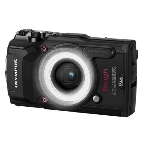 Olympus Tough TG-5 Black + LG-1 led light guide Image 1