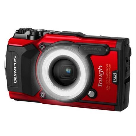 Olympus Tough TG-5 Red + LG-1 light guide Image 1