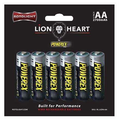 Rotolight lionheart AA rechargeable batt Image 1