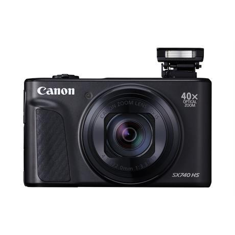 Canon PowerShot SX740 HS - Black Image 1
