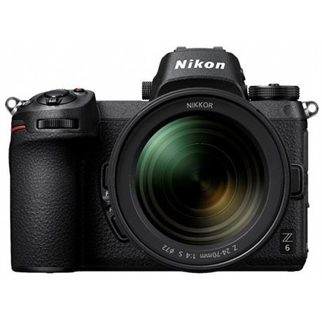 Nikon Z 6 full frame mirrorless camera + 24-70mm lens f/4 S Image 1