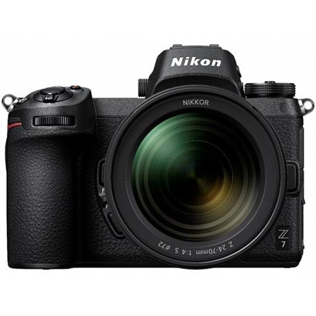 Nikon Z7 Full Frame Mirrorless Camera + 24-70mm f/4 S Lens + FTZ Mount Adapter Image 1