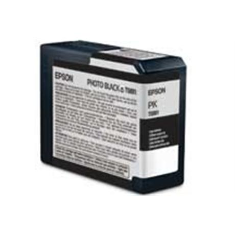 Epson T5801 Ultrachrome K3 Photo Black (80ml) - for PRO 3800 Image 1