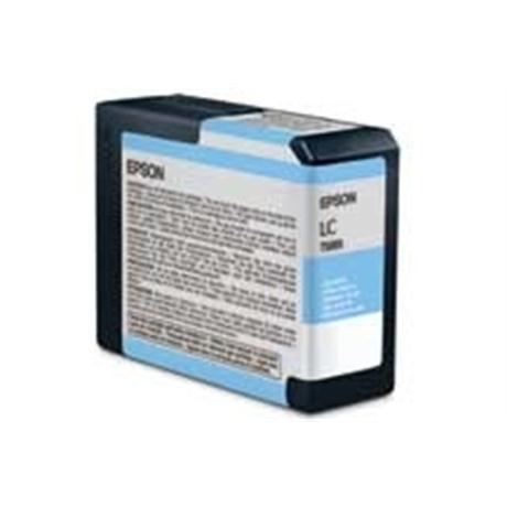 Epson T5805 Ultrachrome K3 Light Cyan (80ml) - for PRO 3800 Image 1