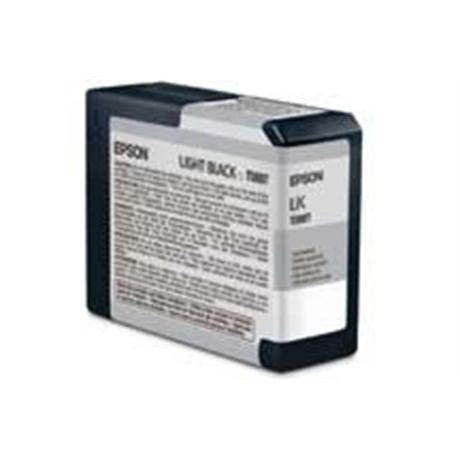 Epson T5807 Ultrachrome K3 Light Black (80ml) - for PRO 3800 Image 1