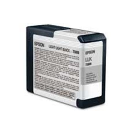 Epson T5809 Ultrachrome K3 Light Light Black (80ml) - for PRO 3800 Image 1