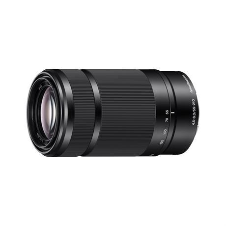 Sony E Series 55-210mm F4.5-6.3 OSS Black Image 1