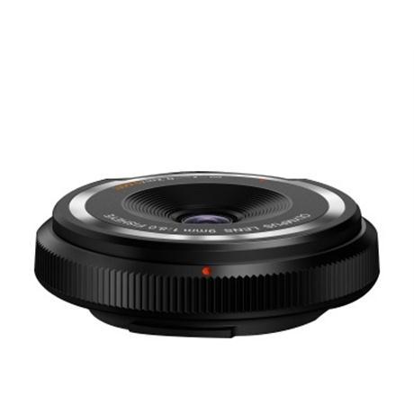 Olympus 9mm f8 Fisheye Body Cap Lens - Black Image 1