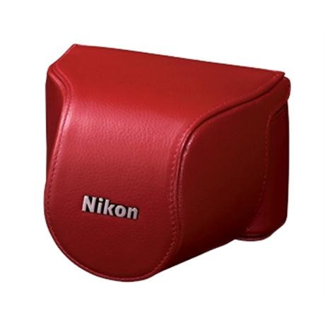 Nikon Body Case Set CB-N2000SL Red Image 1