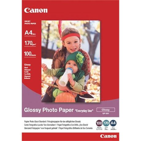 Canon GP 501 A4 Glossy Paper 100 Sheets Image 1
