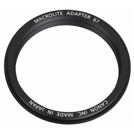 Canon Macrolite Adapter 67C for EF 100mm f/2.8L Image 1