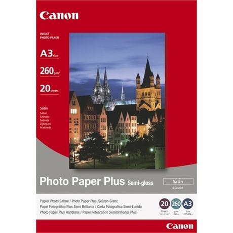 Canon SG-201 A3 Semi-Gloss Photo Paper Plus Image 1