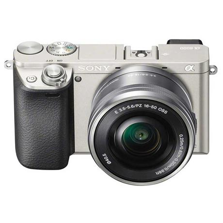 Sony A6000 Mirrorless Digital Camera + 16-50mm Power Zoom Lens - Silver Image 1