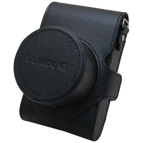 Panasonic DMW-CGK28E-K Black Leather Case for GM1 Image 1