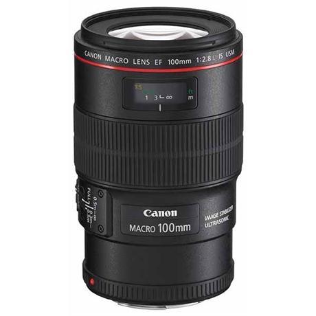 Canon EF 100mm f/2.8L IS USM Autofocus Macro Lens Image 1