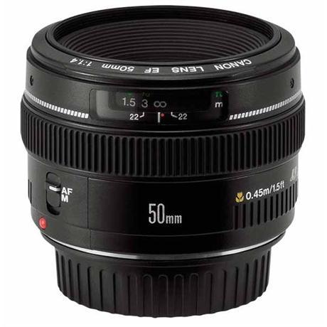 Canon EF 50mm f/1.4 USM Standard Lens Image 1