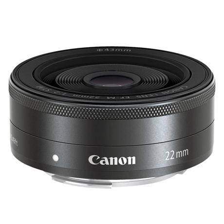 Canon EF-M 22mm f/2 STM Lens Image 1