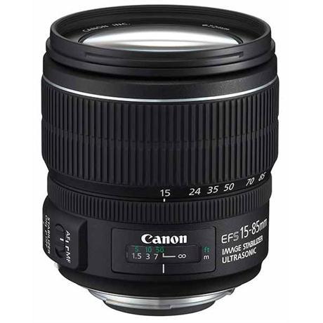 Canon EF-S 15-85mm f/3.5-5.6 IS USM Lens Image 1