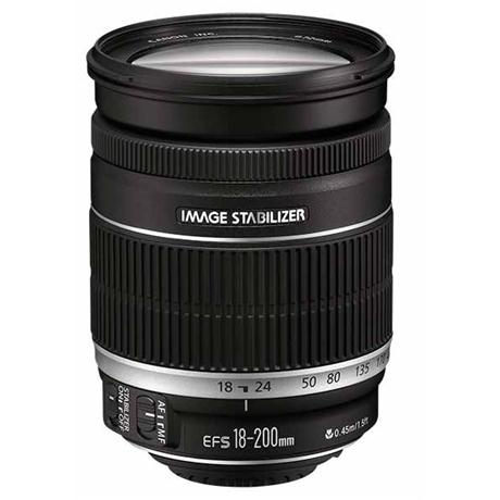 Canon EF-S 18-200mm f/3.5-5.6 IS Zoom Lens Image 1
