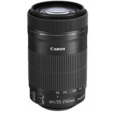Canon EF-S 55-250mm f/4-5.6 IS STM Telephoto Zoom Lens Image 1