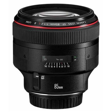 Canon EF 85mm f/1.2L II USM Short Telephoto Lens Image 1