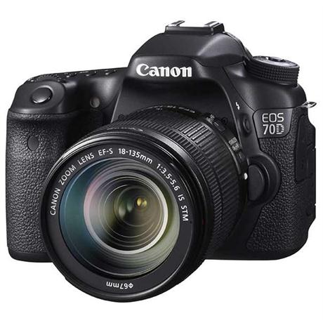 Canon EOS 70D + EF-S 18-135mm IS STM Image 1
