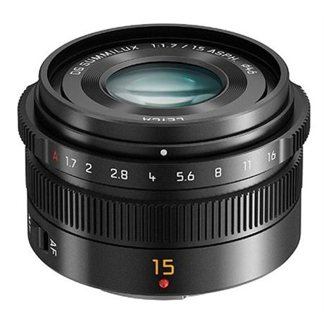 Panasonic Leica DG Summilux 15mm f/1.7 ASPH (M4/3) lens Image 1