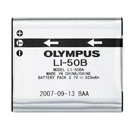 Olympus LI-50B (LI50B) Battery (for MJU 1010, 1030 SW, 6010) Image 1