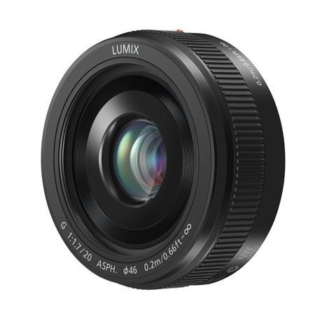 Panasonic Lumix G 20mm f/1.7 II ASPH Black - M4/3 lens Image 1