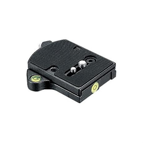 Manfrotto 394 Low Profile Quick Release Adapter with 410PL Plate Image 1