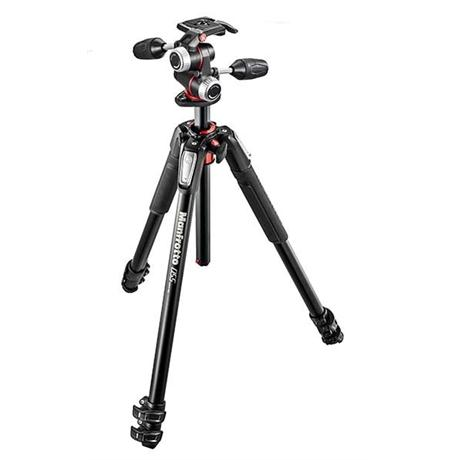 Includes the MT055XPRO3 Tripod and X-PRO 3-Way Head.