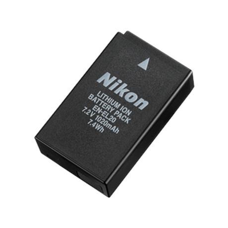 Nikon EN-EL20 rechargebale lithium ion Battery Image 1