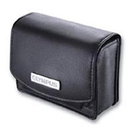 Olympus Leather Case for MJU Cameras Black Image 1