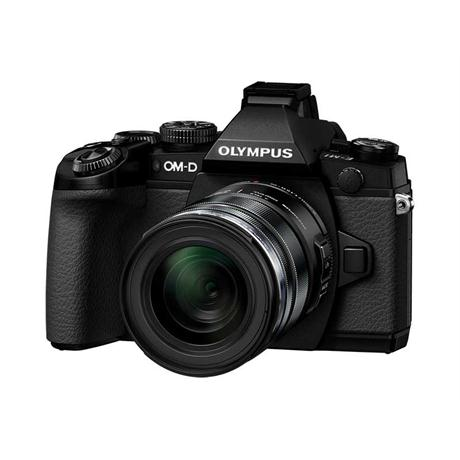Olympus OM-D E-M1 + 12-40mm Mirrorless Camera - Black Image 1