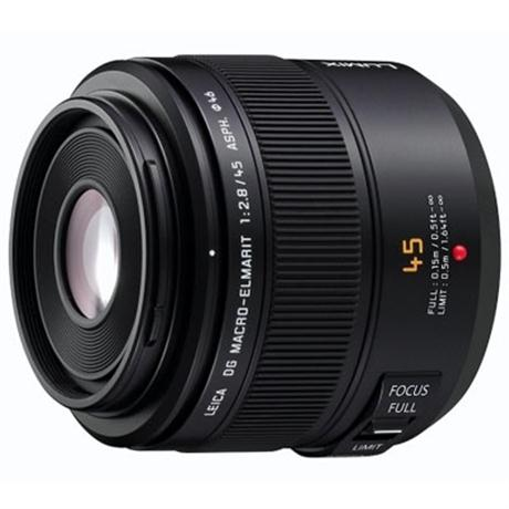 Panasonic LEICA DG MACRO-ELMARIT 45mm lens f/2.8 ASPH MEGA O.I.S. Image 1