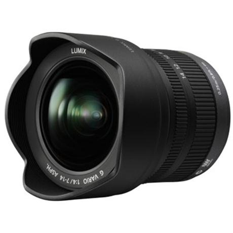 Panasonic Lumix G Vario 7-14mm lens f/4.0 Aspherical Image 1
