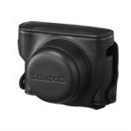 Panasonic DMW-CGK3E-K Black Leather Case for the GF2 Image 1