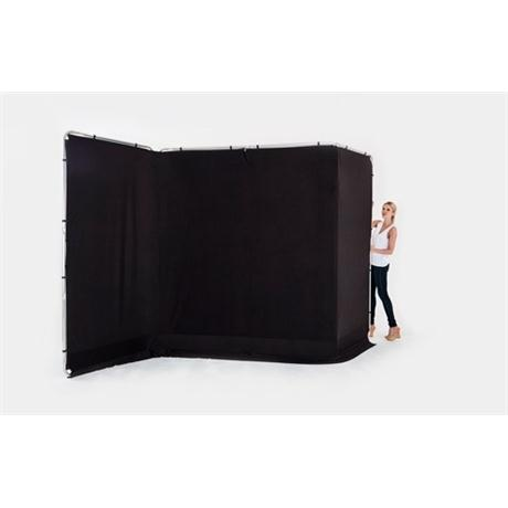 Lastolite Panoramic Background 4m Cover Only Black Image 1
