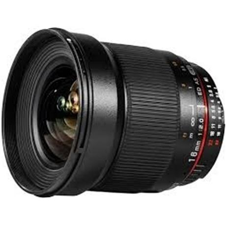 Samyang 16mm F2.0 - Micro Four Thirds Image 1