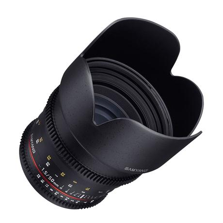 Samyang 50mm T1.5 VDSLR AS UMC Lens - Canon Fit Image 1