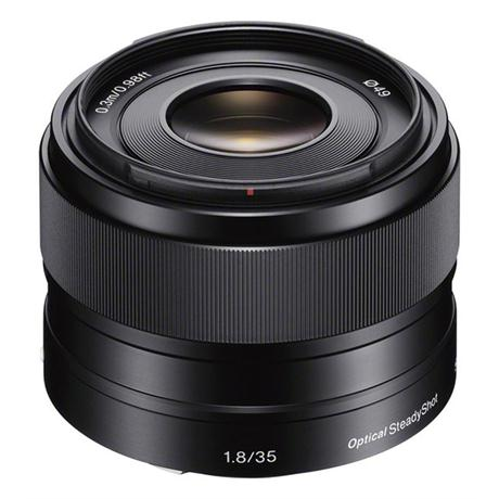 Sony 35mm lens  f/1.8 E-Series E-Mount OSS Image 1
