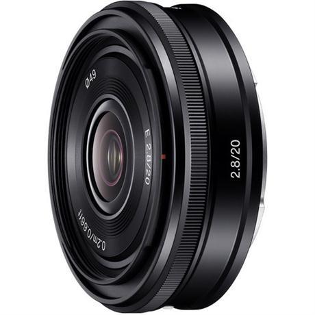 Sony E Series 20mm lens f/2.8 Image 1