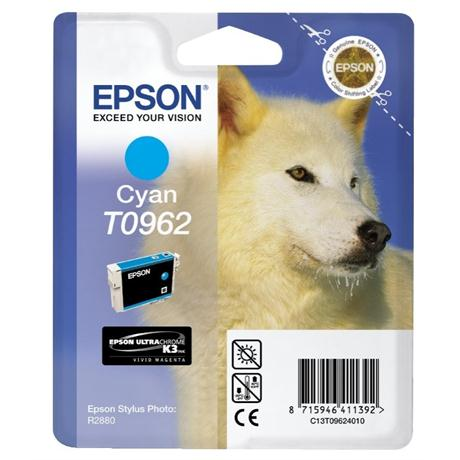 Epson Husky Cyan Photo Ink T0962 Image 1