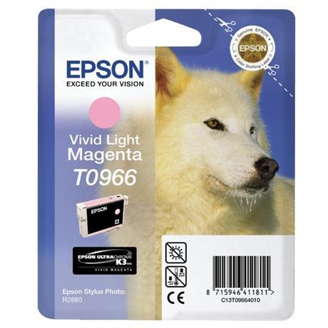 Epson Husky Vivid Light Magenta Ink T0966 for R2880 Image 1
