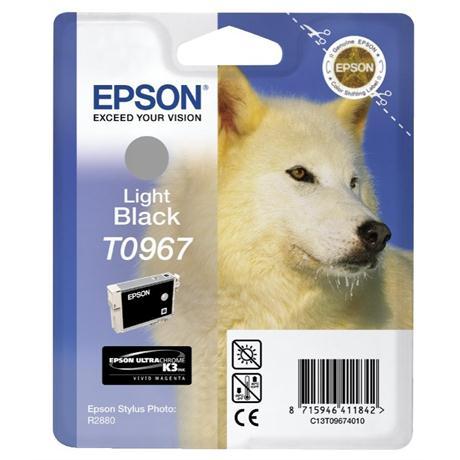 Epson Husky Light Black Ink T0967 for R2880 Image 1