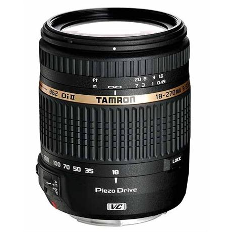 Tamron AF 18-270mm f/3.6-6.3 Di II VC PZD Lens - Canon Fit Image 1