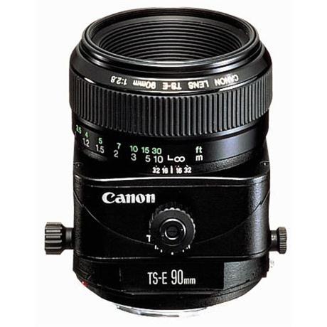 Canon TS-E 90mm f/2.8 Manual Focus Tilt-Shift Lens Image 1