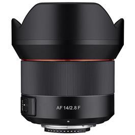 Samyang AF 14mm f/2.8 Nikon F Mount Lens thumbnail