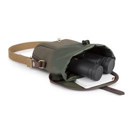 Billingham Galbin 8 Binocular Case - Sage FibreNyte/Chocolate Thumbnail Image 4