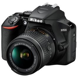 Nikon D3500 DSLR Digital Camera with 18-55mm lens AF-P DX VR Black Thumbnail Image 1